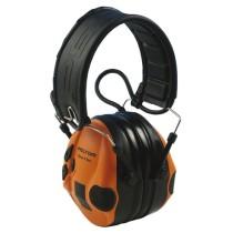 3M™ Peltor® SportTac vadászathoz is ajánlott elektronikus fültok narancs színű potkagylókkal (SNR 26dB)