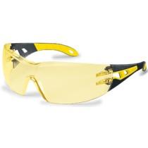 UVEX PHEOS sárga/fekete szár, sárga lencse