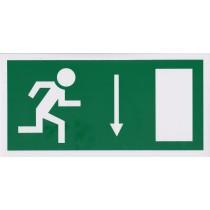 Menekülési út lefelé, ajtó jobbra