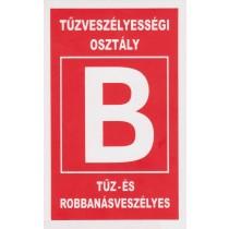 Tűzveszélyességi osztály ''B''