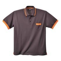 Texo Contrast pólóing (L-es méret, szűrke szín)