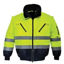 PJ50 - Jólláthatósági Pilóta Dzseki sárga/fekete