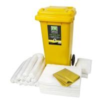PW Spill 120 liter olajszorbens készlet